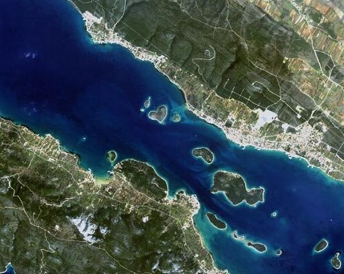 Galešnjak island, Pašman Channel,